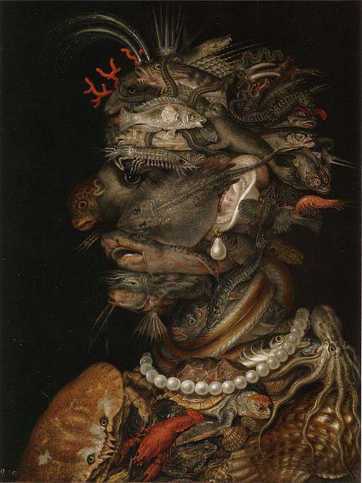 Giuseppe Arcimboldo Water 1566