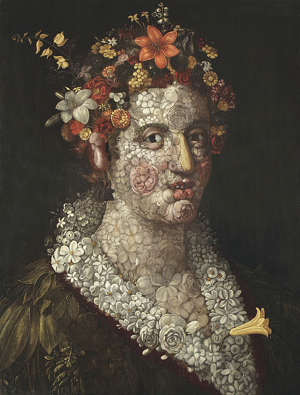 Giuseppe Arcimboldo Flora 1591