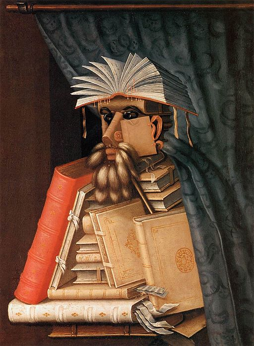 Giuseppe Arcimboldo Librarian 1566