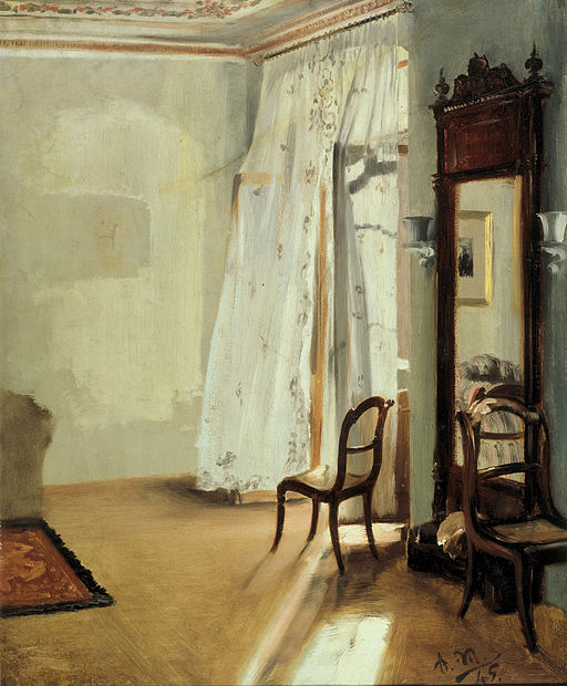 Adolph Menzel The Balcony Room 1845