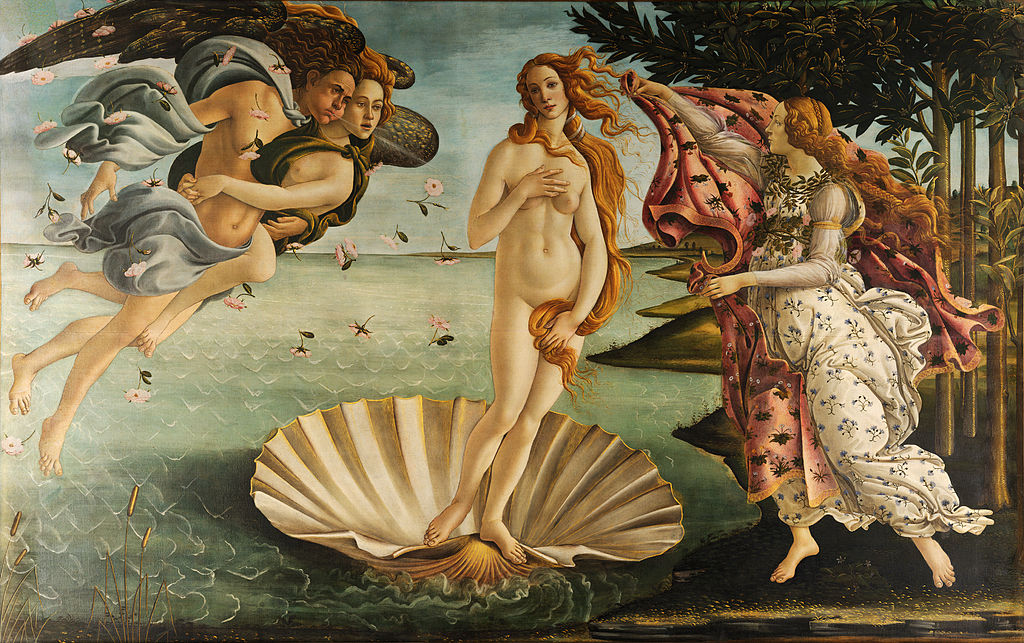 Sandro Botticelli The Birth of Venus 1485