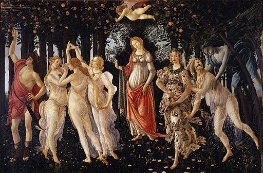 Sandro Botticelli Primavera 1478