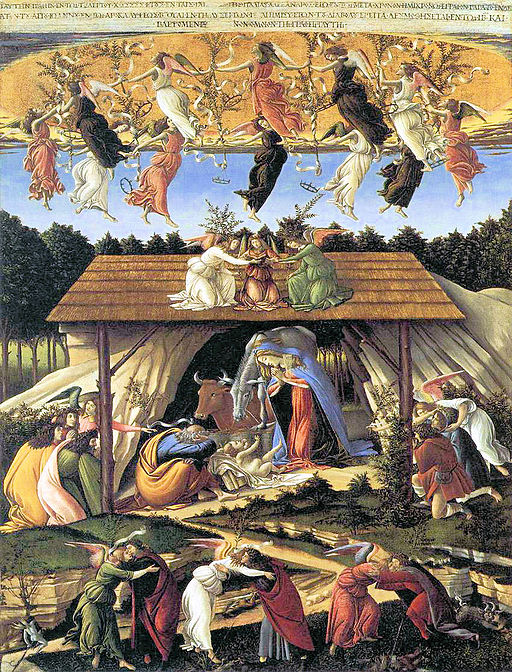 Sandro Botticelli Mystic Nativity 1501