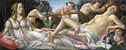 Sandro Botticelli Venus and Mars 1483