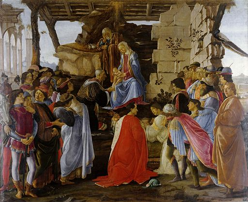 Sandro Botticelli Adoration of the Magi 1475