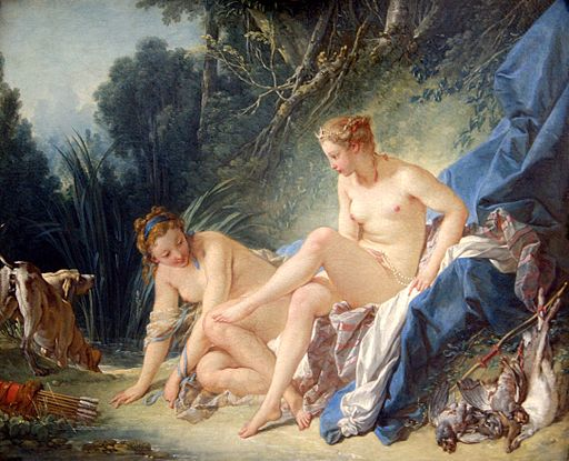 François Boucher Diana leaving her Bath 1742