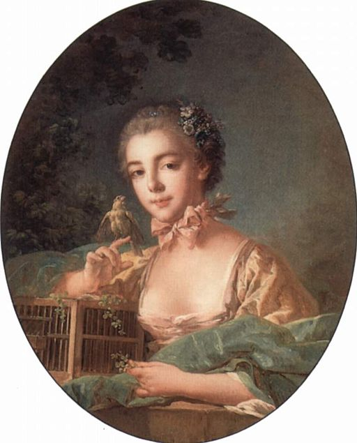 François Boucher Portrait of madame Badouin 1760