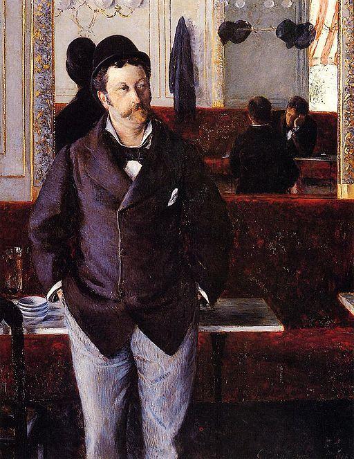 Gustave Caillebotte Dans un café 1880