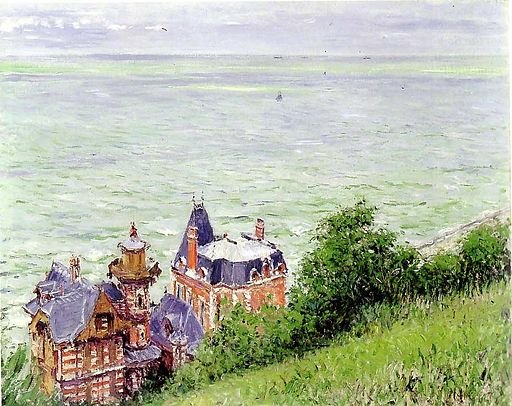 Gustave Caillebotte Villas at Trouville 1884
