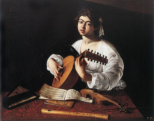 Caravaggio The Lute Player 1596