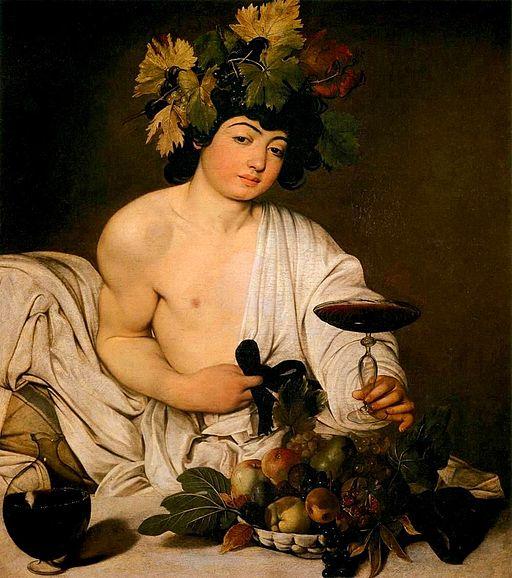 Caravaggio Bacchus 1595