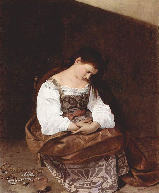 Caravaggio Maria Magdalena 1594-1595
