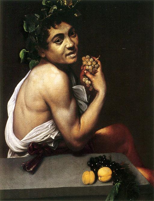 Caravaggio Young Sick Bacchus 1593