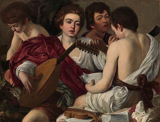 Caravaggio The Musicians 1595-1596