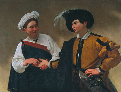 Caravaggio The Fortune Teller 1594