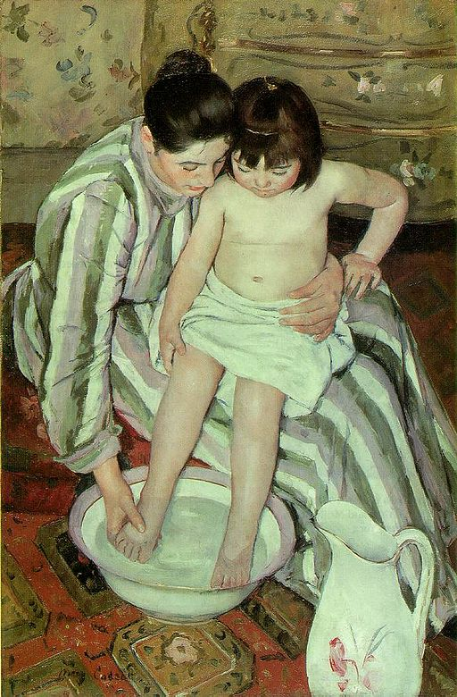 Mary Cassatt The Child's Bath 1893