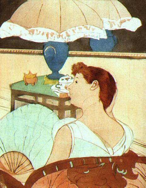 Mary Cassatt The Lamp 1891