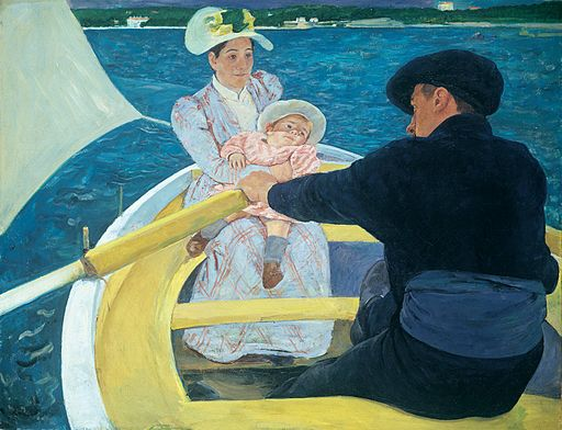 Mary Cassatt The Boating Party 1893-1894