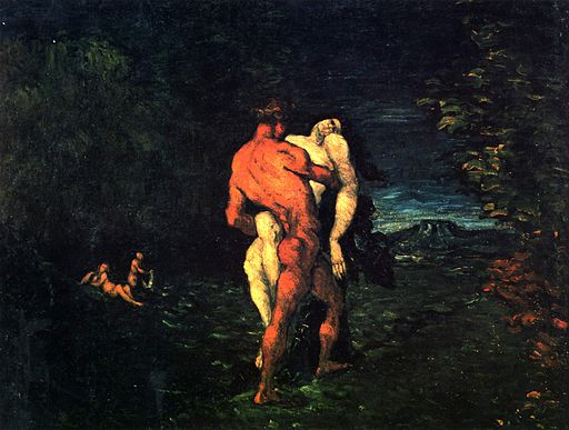 Paul Cézanne Die Entführung