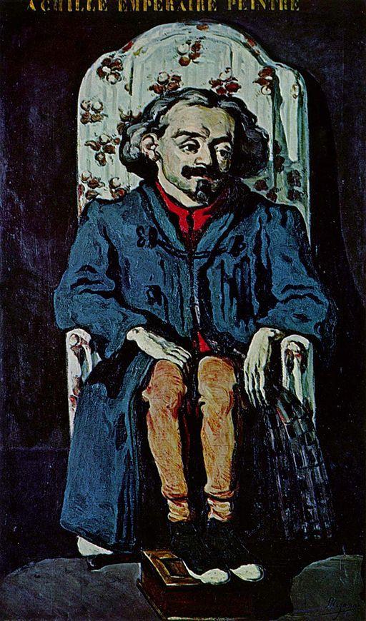 Paul Cézanne Porträt des Achille Emperaire