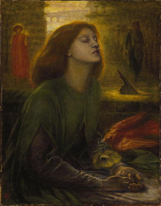Dante Gabriel Rossetti Beata Beatrix 1863