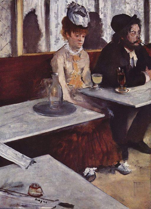 Edgar Degas L'Absinthe 1876