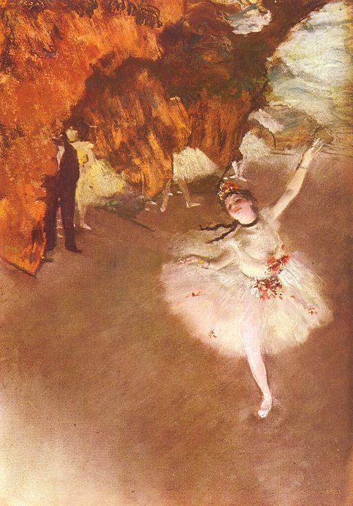 Edgar Degas Ballet - L'étoile 1878