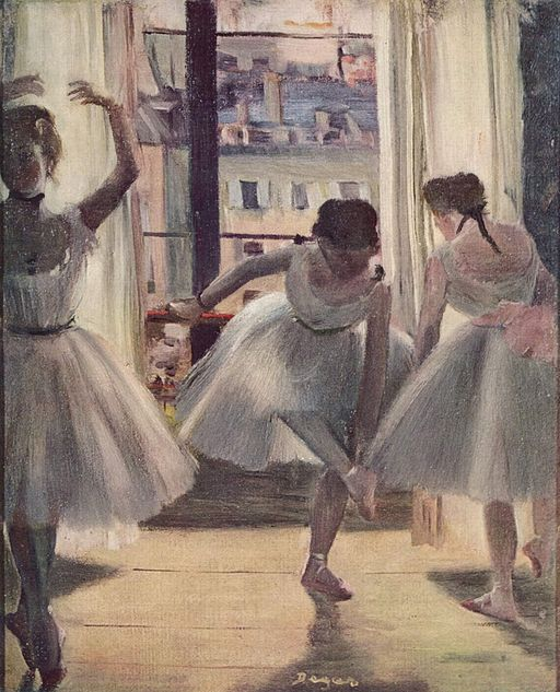 Edgar Degas Trois Danseuses 1873