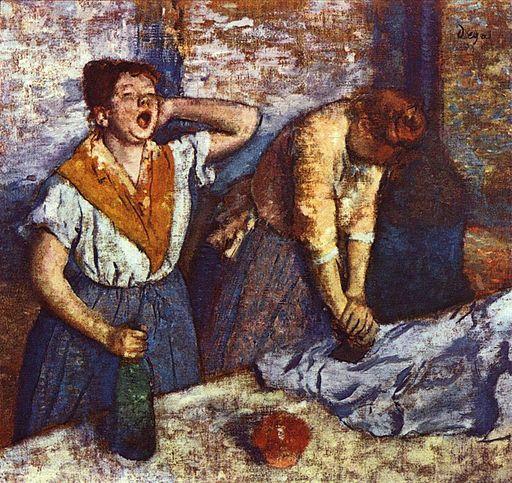 Edgar Degas Repasseuses 1884