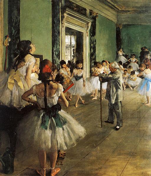 Edgar Degas Classe de danse