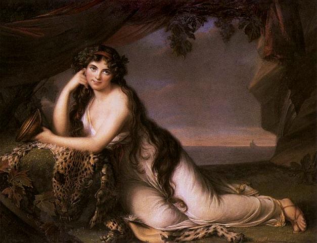 Élisabeth Louise Vigée Le Brun Lady Hamilton as Ariadne