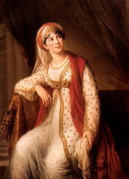 Élisabeth Louise Vigée Le Brun Giuseppina Grassini dans le role de Zaire