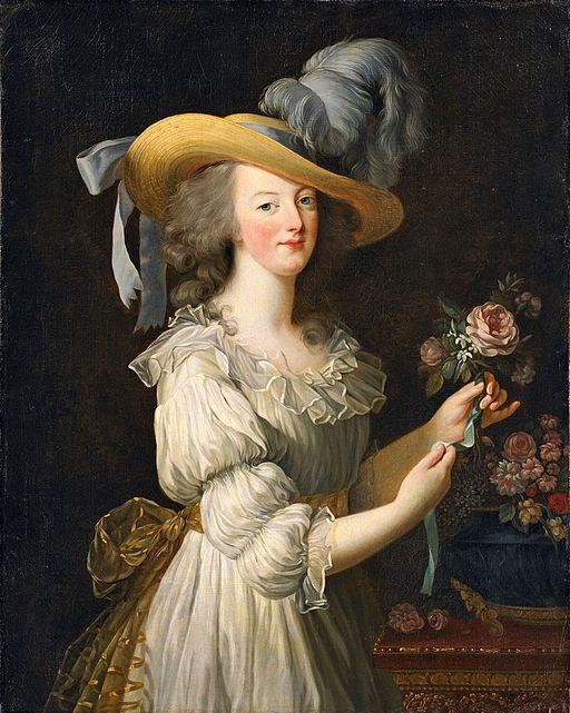 Élisabeth Louise Vigée Le Brun Marie Antoinette à la rose