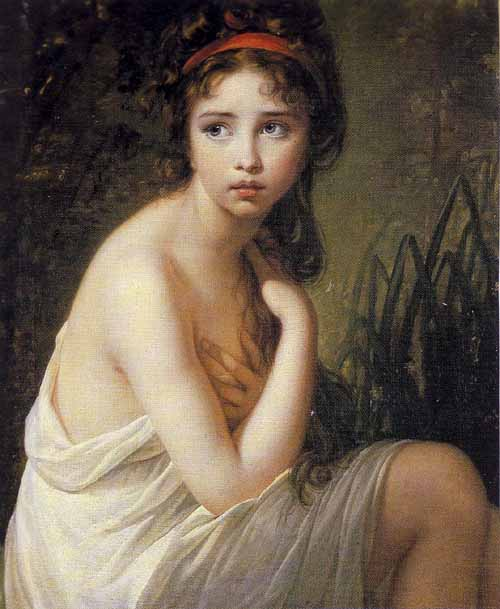 Élisabeth Louise Vigée Le Brun The Bather 1792