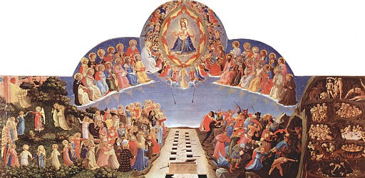 Fra Angelico The Day of Judgement 1432-1435