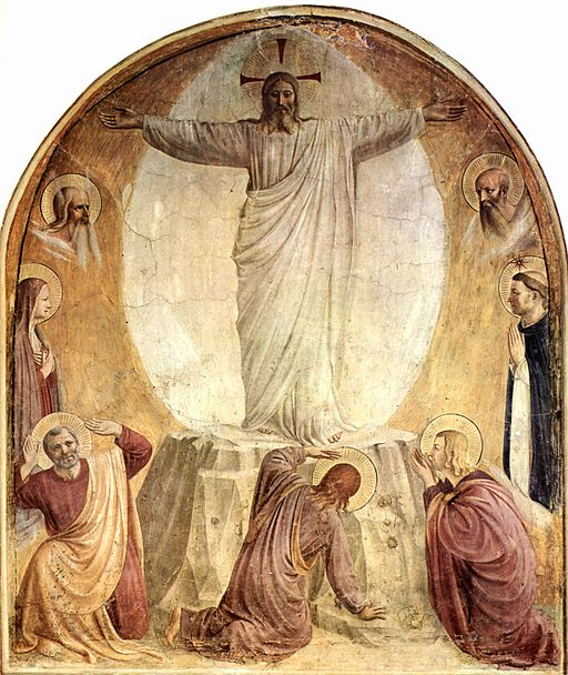Fra Angelico Transfiguration of Christ 1437-1446