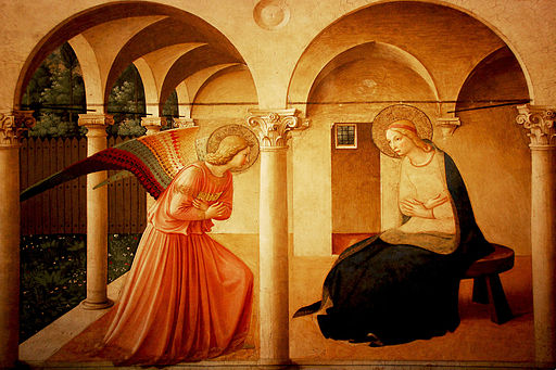 Fra Angelico The Virgin of the Annunciation 1437-1446