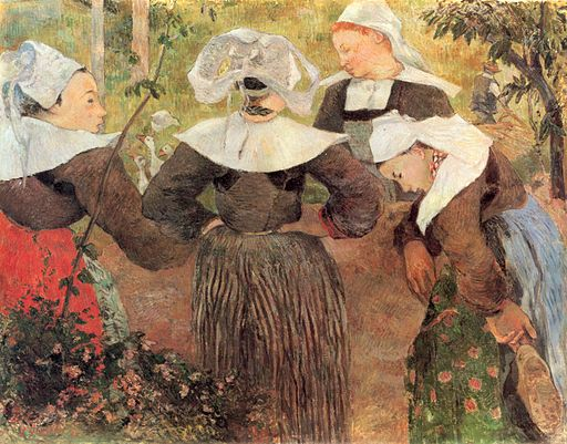 Paul Gauguin Four Breton Women 1886