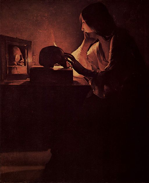 Georges de La Tour The Repentant Magdalen 1628-1645