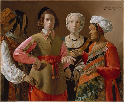 Georges de La Tour The Fortune Teller 1633-1639