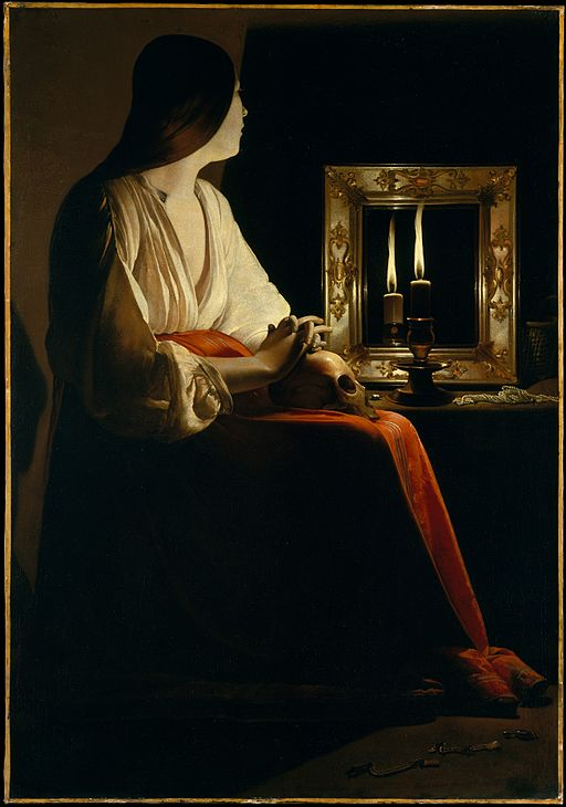 Georges de La Tour The Penitent Magdalen 1635