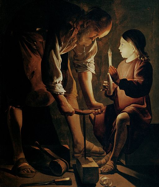 Georges de La Tour Joseph the Carpenter 1642 or 1645