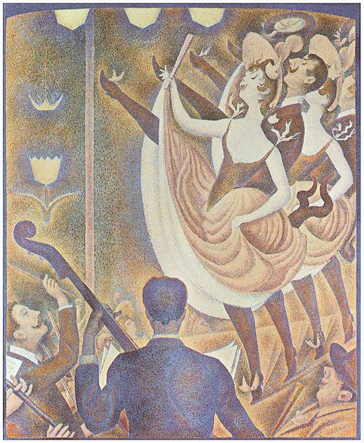 Georges Seurat Le Chahut 1889-1890