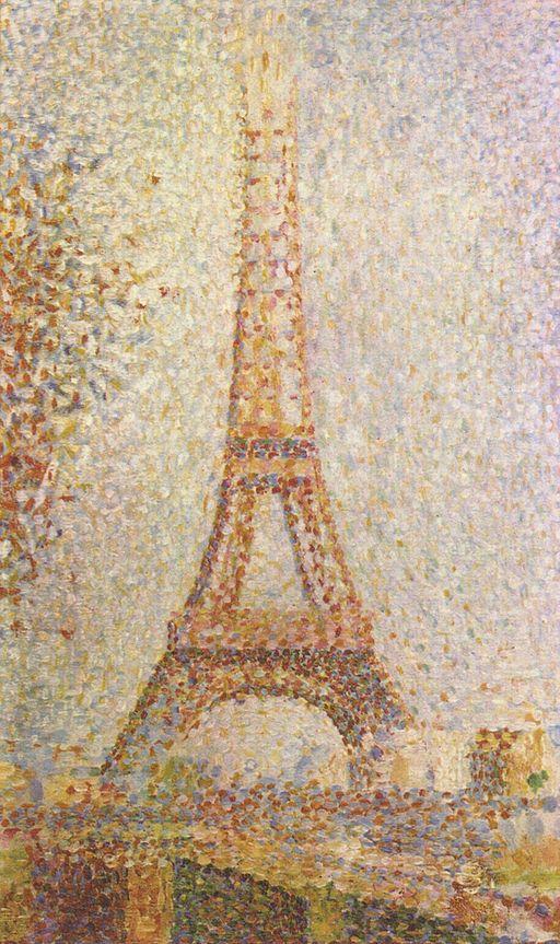 Georges Seurat La Tour Eiffel 1889
