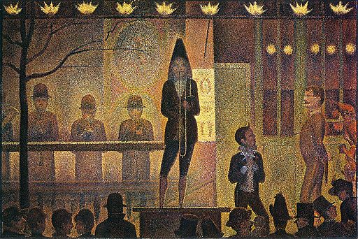 Georges Seurat La Parade de Cirque 1887-1888