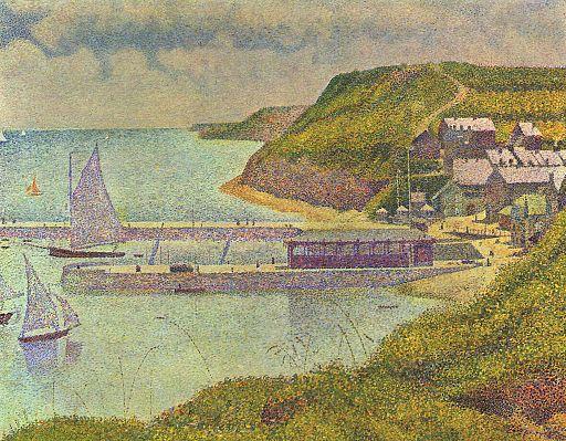 Georges Seurat Port-en-Bessin 1888