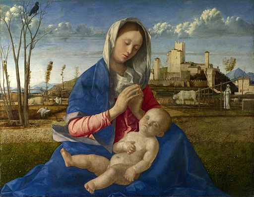 Giovanni Bellini Madonna of the Meadow 1505