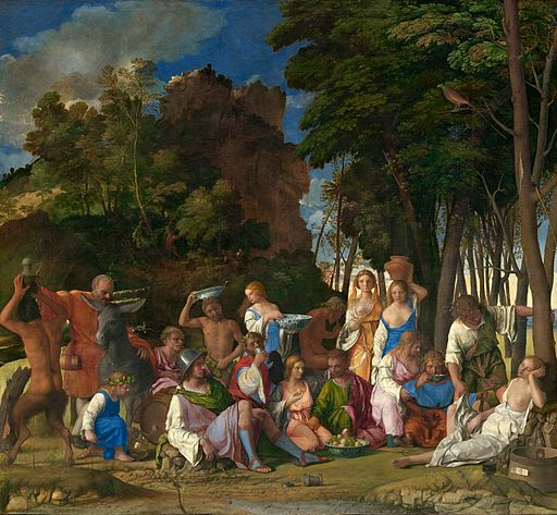 Giovanni Bellini The Feast of the Gods 1514