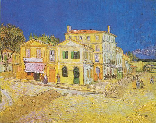 Vincent van Gogh The yellow house 1888