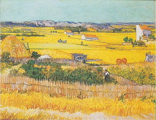 Vincent van Gogh The plain